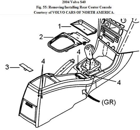 2000 volvo v40 center console removal how do i remove the center console on a 2004 volvo s40