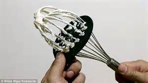 whisk wiper whisk wiper promises to clean your whisk in a matter of
