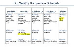 home plan weekly our 2nd grade homeschool schedule and curriculum with pre