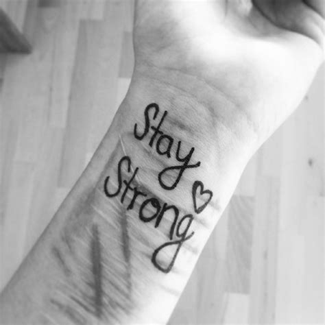 tattoo quotes for cutters cutting quotes stay strong tattoos quotesgram