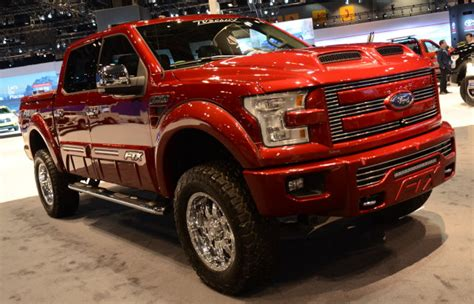 the new f 150 shows its custom side in chicago