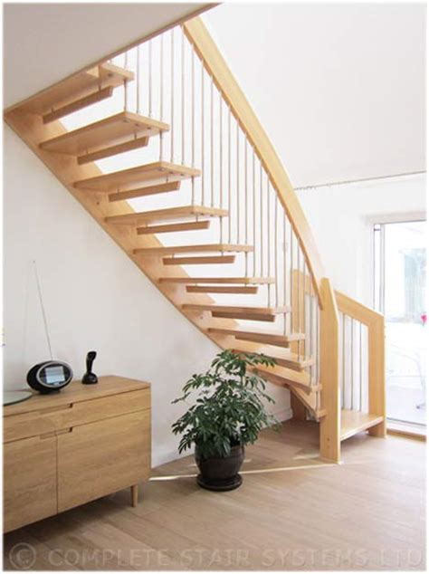 New Staircase Floating Staircase New Milton With Cantilvered Beech