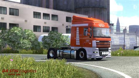 volvo transport hoving transport skin for daf xf and volvo ets2 world