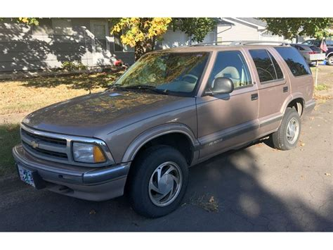 car owners manuals for sale 1996 chevrolet blazer parental controls used 1996 chevrolet blazer for sale by owner in albany or 97322