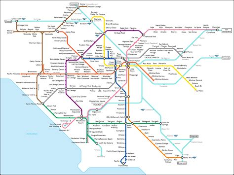 transport for map transport map los angeles l a taco