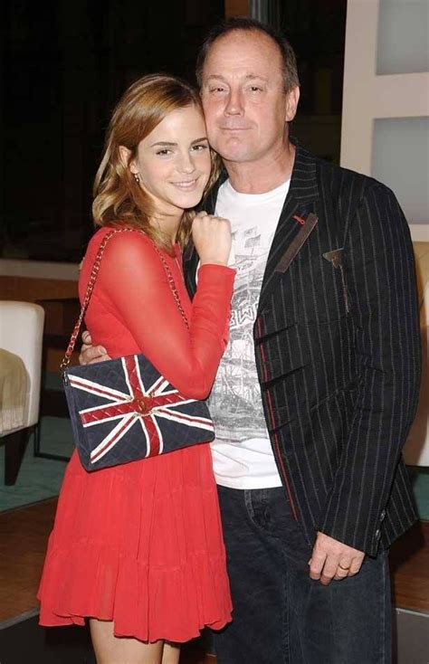 Emma Watson Dad | emma with her dad on father s day fanfastic emma
