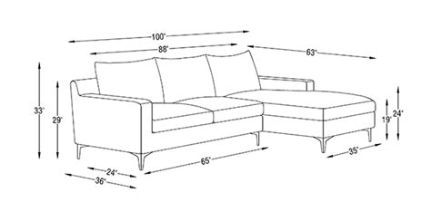 couch height average sofa dimensions thesofa