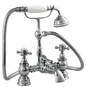 Victorian Bath Shower Mixer Taps Ultra Hf304 York Victorian Bath Shower Mixer Tap
