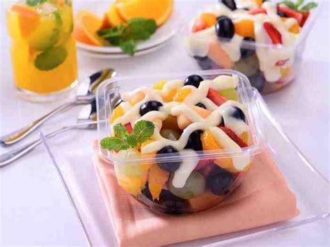 membuat salad buah sederhana  enak