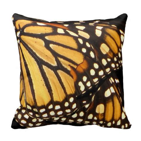 Butterfly Throw Pillows by Monarch Butterfly Abstract Throw Pillow Zazzle
