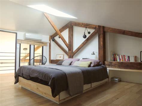 d馗o chambre 騁udiant la chambre parentale de notre petit loft photo 5 9
