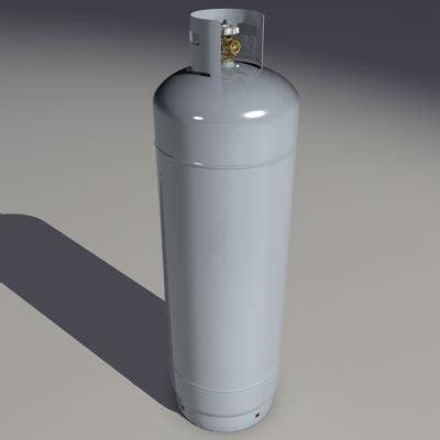 100 pound propane tank 3d dxf