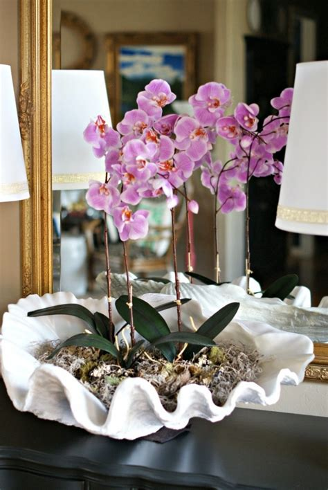 fun ways  style  house  decorate  orchids