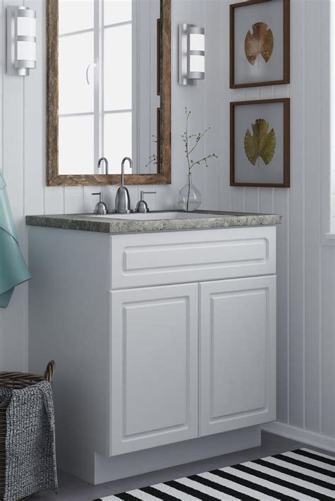 How To Maximize Your Small Bathroom Vanity Overstock Com Vanities For Small Bathrooms