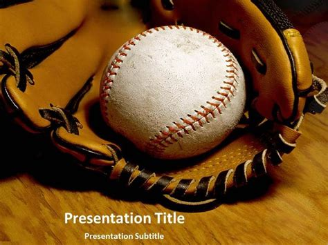 powerpoint templates baseball 17 best images about sports templates on a