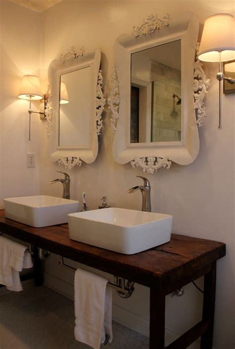 hobby lobby bathroom bathrooms baroque mirror white baroque mirrors his and