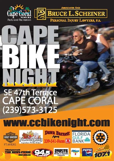 Personal Injury Attorney Cape Coral Fl 5 by Cape Coral Bike Season Finale To Draw Motorcycle