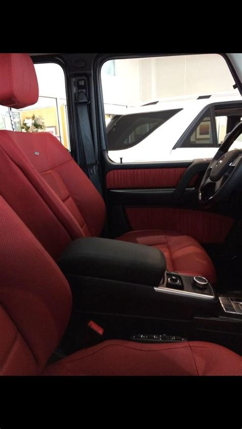 mercedes g wagon red interior as 25 melhores ideias de mercedes g wagon interior no