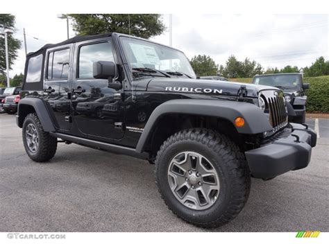 jeep black 2015 2015 black jeep wrangler unlimited rubicon 4x4 97604380