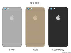 i phone 6 colors iphone 6 assembled what apple s smartphone could