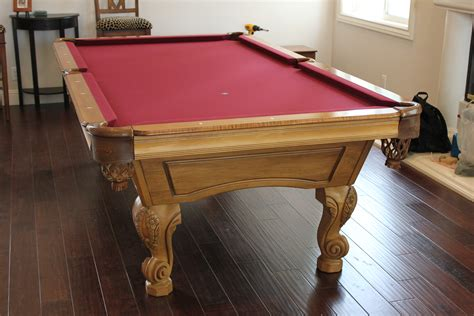 olhausen pool table refelting dk billiards service