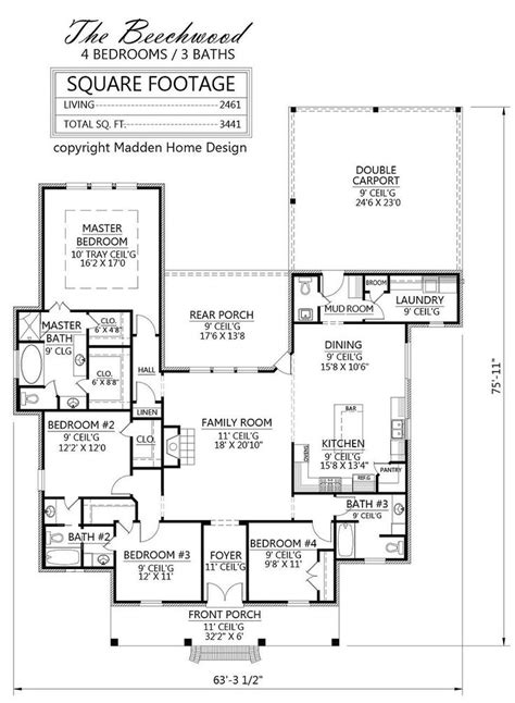 madden home design house plans madden home design the beechwood house plans pinterest