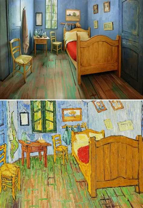 Gogh Bedroom For Rent 9 Amazing Themed Airbnb Rentals Oddee