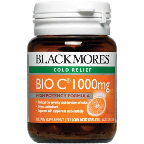 Blackmores Vitamin C 1000mg buy blackmores bio c 1000mg 31 tablets vitamin c at