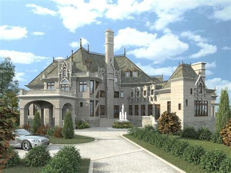 chateau house plans photos