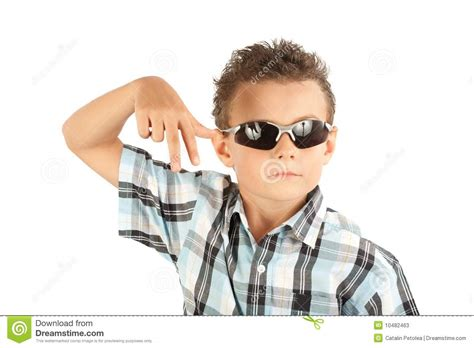 cool stock cool kid stock image image of strong joyful sunglasses