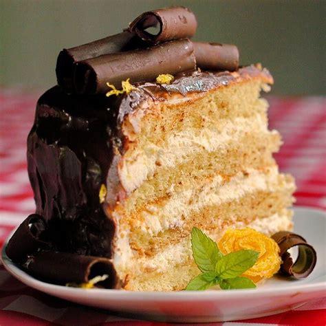 lemon cream chocolate ganache cake rock recipes
