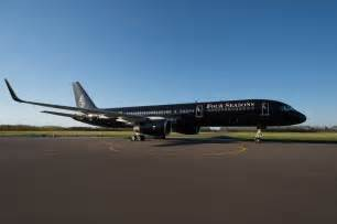 luxury jets four seasons unveils luxury private jet video luxuo