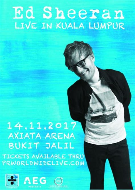 ed sheeran in singapore ed sheeran announces dates for malaysia and singapore