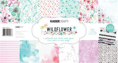 kaiser craft paper kaisercraft wildflower and pawfect