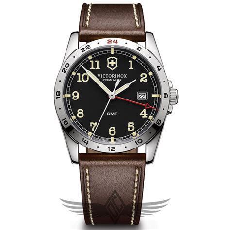 Victorinox Swiss Army Infantry GMT 40mm Stainless Steel