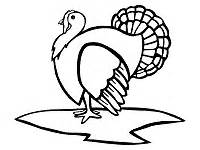 coloring page of a turkey head farm animals coloring pages and printable activities 1