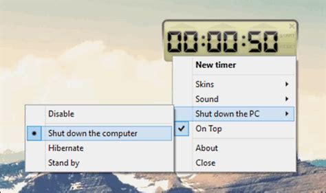 Desk Top Timer by 5 Best Shutdown Timer Software For Windows 10