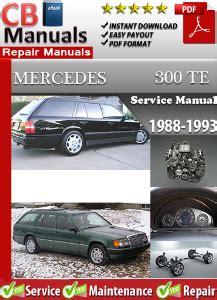 free car repair manuals 1993 mercedes benz 300te windshield wipe control mercedes 300te 1988 1993 service repair manual ebooks automotive