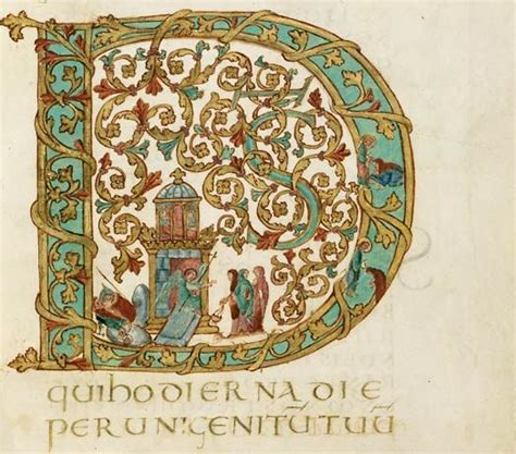 Charlemagne Essay Ideas by Letter D From The Drogo Sacramentary The Illuminated