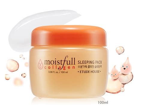 Etude Sleeping Pack etude house moistfull collagen sleeping pack