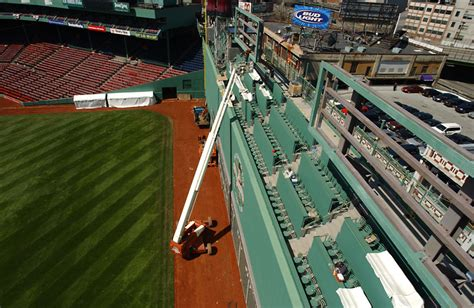 green standing room fenway park through the years boston sox