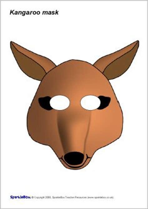 printable wombat mask pinterest the world s catalog of ideas