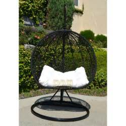 rattan nest chair 2 persons seater bird egg nest wicker rattan swing lounge