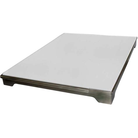 Backyard Grill Tray Cal 20 In Stainless Steel Pizza Brick Tray For