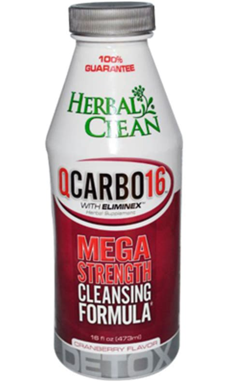 Carbo 32 Detox by Q Carbo Liquid Cranberry 16 Fl Oz 20 00ea From Herbal