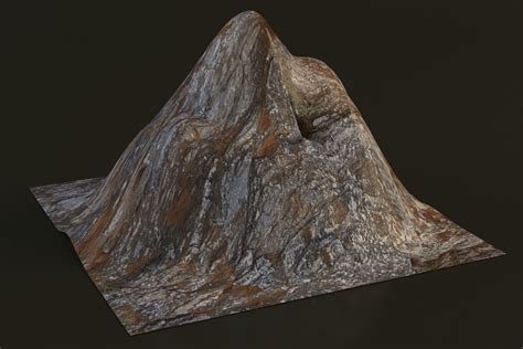 mountain models 3d model low poly mountain vr ar low poly max obj