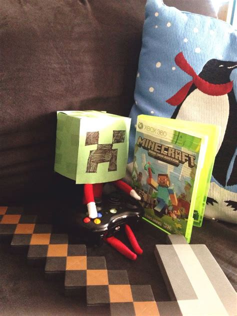 minecraft printable for elf on the shelf 17 best images about elfie ideas and tips on pinterest