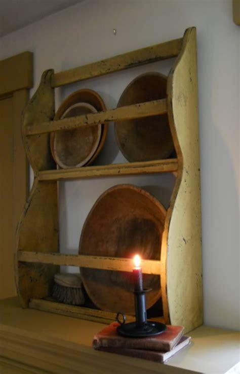Bowl Rack primitive bowl rack shelf primitive colonial kitchens