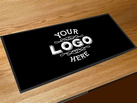 Pub Mats personalised logo bar runner mat
