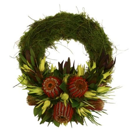 native australian sympathy wreath flowers for everyone